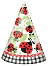 Lively Ladybug Birthday Party Supplies Hats