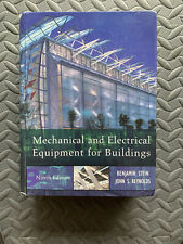 Mechanical and Electrical Equipment for Buildings by John S. Reynolds and...