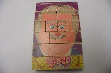 Vintage playskool Captain Kangaroo 1969 Block Puzzle