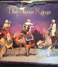 LARGE Retired CostCo Kirkland Three Kings For Christmas Nativity Set Creche