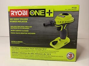 Ryobi P738 18-Volt ONE+ Cordless High Volume Power Inflator Blower (Tool Only)