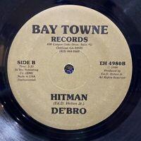 "bay area electro funk boogie 7"" DE'BRO Hitman ♫ Mp3 Modern Soul Instrumental"