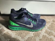 Nike Air Max Green And Blue Size 11.5
