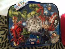 Marvel Avengers Almuerzo Escolar Bolso Y 3d Avengers Mochila Bolso