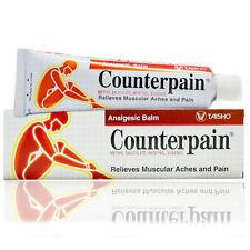 120g Counter Pain Hot Analgesic Balm Warm Heat Cream Muscular Aches Relief Stain