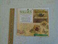 WALLIES 12144 Wallpaper Cutouts Cheerful SUNFLOWERS 25 pcs NIP