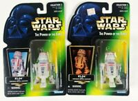 Star Wars Kenner Power Of The Force POTF R5-D4 Figures 1996 Sealed