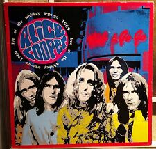 Alice Cooper-Live At The Whisky A-Go-Go 1969 Lp Nm First Issue Edsel 1992