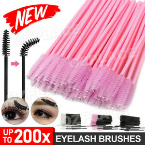 Disposable Mascara Wands Eyelash Brushes Applicator Lash Extension Brush NEW