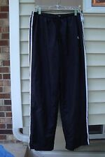 Adidas Lined Polyester Men's Athle Black tic Running Basketball Pant Sz Xl