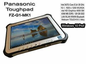 Panasonic Toughpad FZ-G1-MK1.Tablet.Core i5. 2x1.9GHz.4GB.128GB SSD.WIN10+Office
