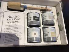 Annie Sloan Proyecto Pack - 1 Cepillo de Pintura + 4 X 120ml latas de pintura-Elige Colores