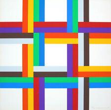"""Verena LOEWENSBERG - """"Senza titolo"""", 1970-73 - Serigrafia a colori, 69 x 69 cm"""