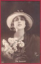 PINA MENICHELLI 16 ATTRICE ACTRESS CINEMA MUTO SILENT MOVIE - CASTROREALE