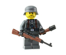 German G43 Wehrmacht WW2 Soldier (SKU78) minifigure made w/ real LEGO® minifig