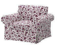 IKEA Ektorp Chair Slipcover Hovby Lilac Armchair Cover Authentic