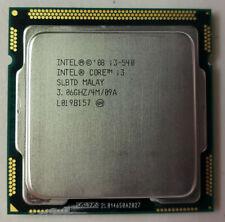 Intel Core i3-540 3.06Ghz Lga 1156/Socket H 2.5 Gt/s Desktop Cpu Slbtd