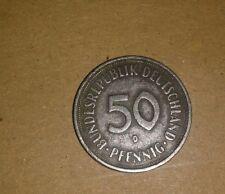 50 pfennig 1950 D Bundesrepublik Deutschland