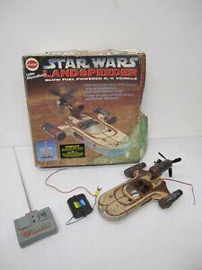 Vtg 1990s Cox 9430 Radio Control Star Wars Luke Skywalkers Landspeeder RC As Is