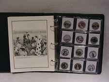 The American Revolution  Colorized Half Dollar Coin Collection - Commemorative