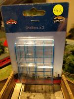 Bachmann Scenecraft 44-510 Modern Bus Shelters X2 OO scale