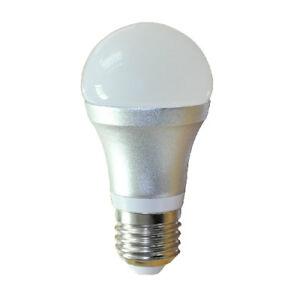 7W LED Birne Lampe mit HF-Bewegungsmelder MW-Sensor 360 100-240V 480lm E27 3000K