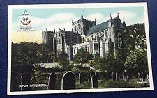 POSTCARD: RIPON CATHEDRAL: UN POSTED