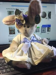 Bearington Collection Bunny Rabbit Tulip And Ducky Stuffed Plush Easter Retired