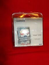 GARMIN Nuvi 200 Navigation GPS SEALED Navteq Unopened Packaging and Box      578