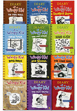 Diary of a Wimpy Kid Collection 12 Books Set Pack by Jeff Kinney-Old School,Long