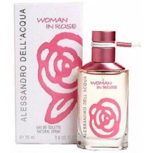 Woman IN Rose By Alessandro Dell'Acqua Women Eau de Toilette 50ml Ovp