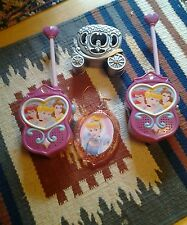PINK PRINCESS WALKIE TALKIES, TRINKET BOX AND HANGING ORNAMENT.