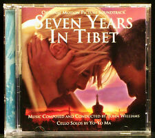 Seven Years in Tibet [Movie Soundtrack] by John Williams (CD, 1997 Sony)