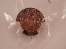 Veterans Helping Veterans pins New in package  2007 2006