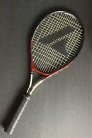 Pro Kennex Ti Force Pro 25 Tennis Racket Titanium Red Black And White