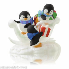 Hallmark 2014 Present Packing Penguins Ornament
