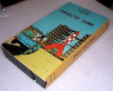 Hergé Les Aventures de TINTIN OBJECTIF LUNE Belgique VHS-NTSC PolyGram Canada