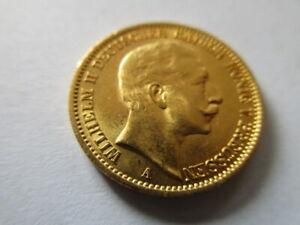 Goldmünze 20 Mark Deutsches Reich Preussen 1910