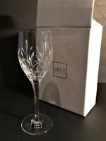 Mikasa PETIT POINTS Cut/Etched Lead Crystal 9 Inch Goblets NEW IN BOX