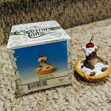 Charming Tails Sweetie Pie Mouse Cherry Pie Ladybug Figurine With Box