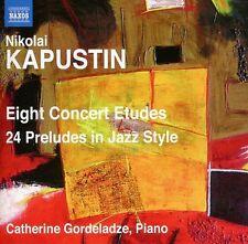 Catherine Gordeladze - Eight Concert Etudes / 24 Preludes in Jazz Style [New CD]