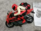 TYCO RC Honda CBR 1000RR Motorcycle 2004 Mattel Remote Control With Manual