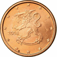 [#722634] Finland, Euro Cent, 2004, PR, Copper Plated Steel, KM:98