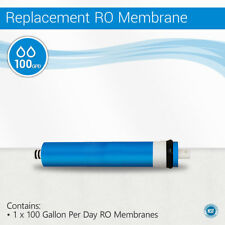 100 GPD Reverse Osmosis Water Filter System Membrane Size 2012 NSF Certified
