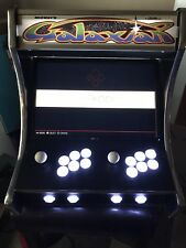 NEW BARTOP RETRO ARCADE CABINET 2 PLAYERS LED BUTTONS WITH 8000+ GAMES CLASSICS