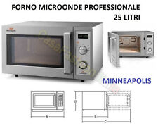 FORNO MICROONDE MINNEAPOLIS WP1000 PROFESSIONALE 25 LT BAR PUB CASA ZAF1880