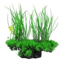 Green Artificial Decor Long Leaf Plant Fake Water Grass for Aquarium Fish Tank A