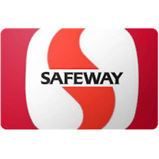 Safeway Gift Card $100 Value, Only $98.50! Free Shipping!