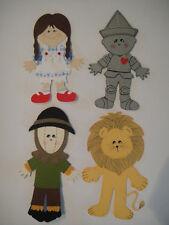 Wizard of Oz Paper Dolls Set (4) CRICUT / DIE CUT :D