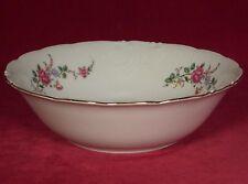 Royal Kent Collection Poland Round Vegetable Serving Bowl Floral Pink Flower